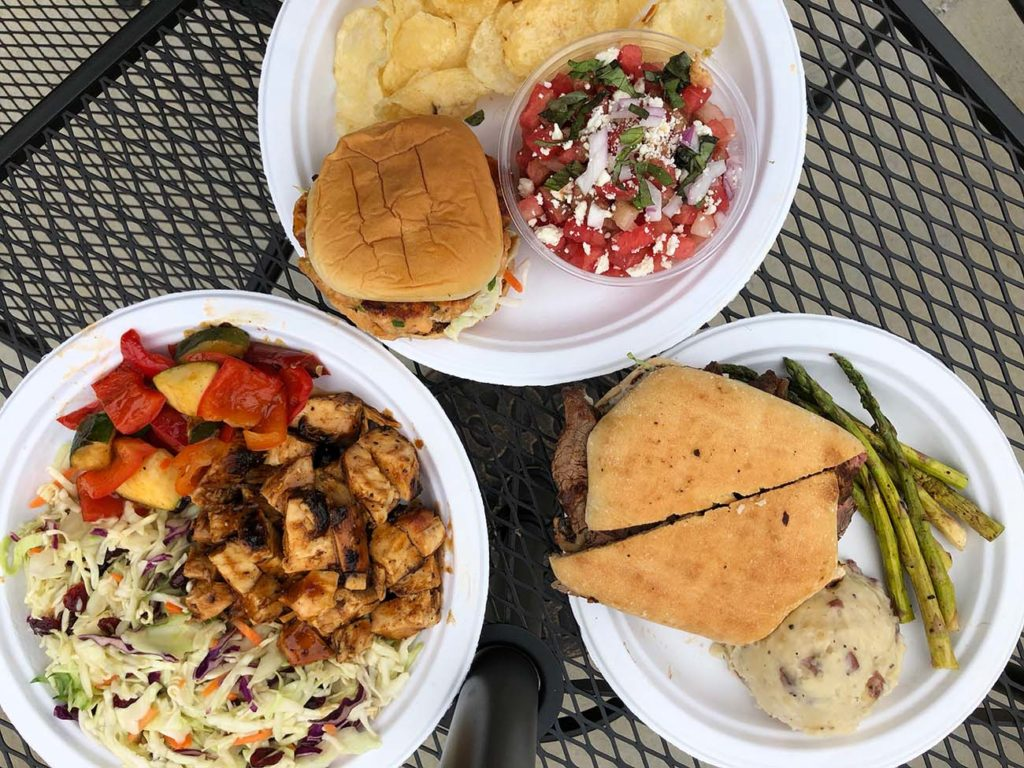 Get a healthy, hearty meal under ten bucks at Brown Bag in Ballantyne