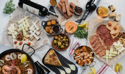 Spanish tapas restaurant Bulla Gastrobar now open. View paella octopus, meatballs,...