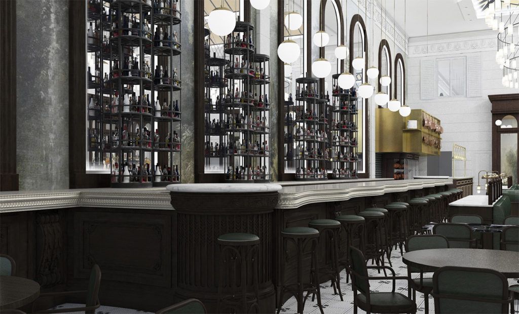 Once construction is complete, La Belle Helene might be Charlotte's most beautiful restaurant