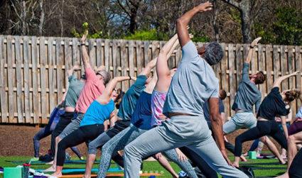 NoDa Hop Yoga's National Yoga Day