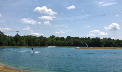 25-acre cable wakeboarding park brings new extreme sport to greater Charlotte