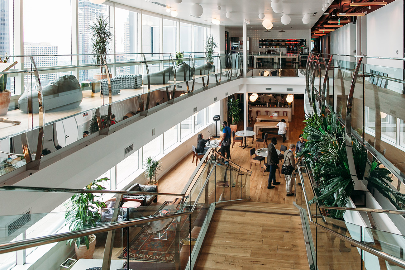 WeWork launching second location with 7 full floors and room for over 2,500 members