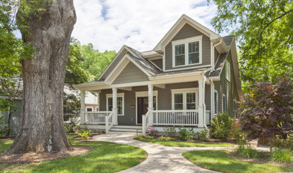 Gorgeous craftsman with media room and wet bar in Plaza Midwood / 4bd,3.5ba / $1,075,000