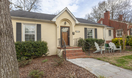 Cottage beauty in Plaza Midwood