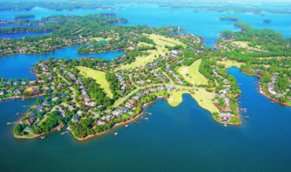 Charlotte Chamber Open House on Lake Norman