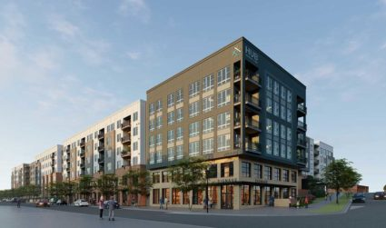 Major new retail and apartment development breaks ground by Sycamore Brewing