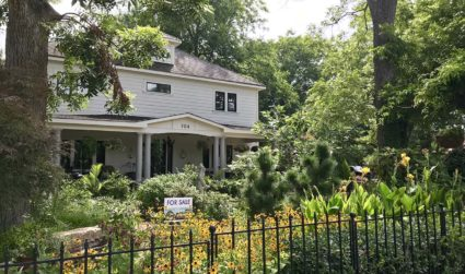 NoDa's (previously purple) 704 House asks $799,900