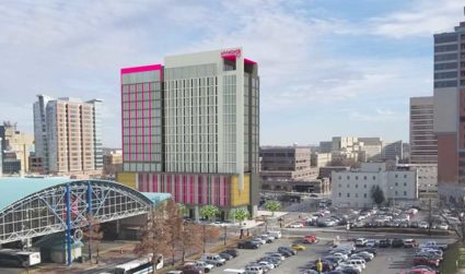 Here are the details on Charlotte's Moxy Hotel, the new party...