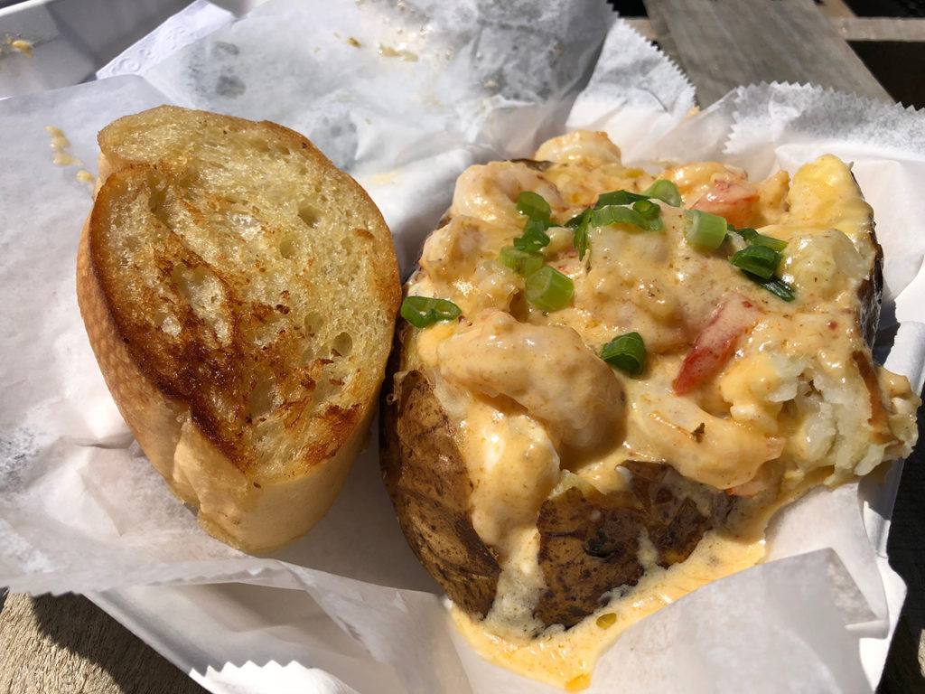 Ace of Spuds food truck bringing gourmet loaded potatoes to the streets of Charlotte