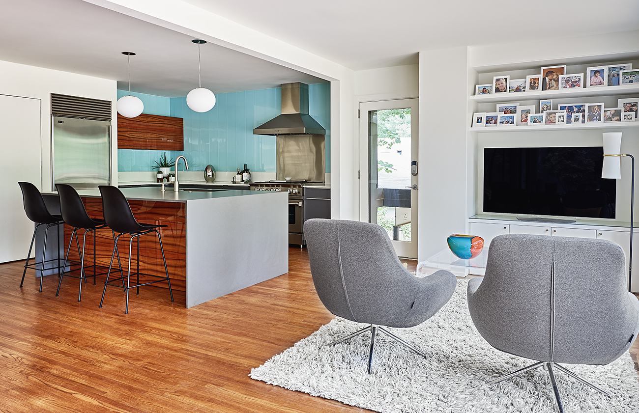 Look inside 7 of the coolest mid-century modern homes in SouthPark ...