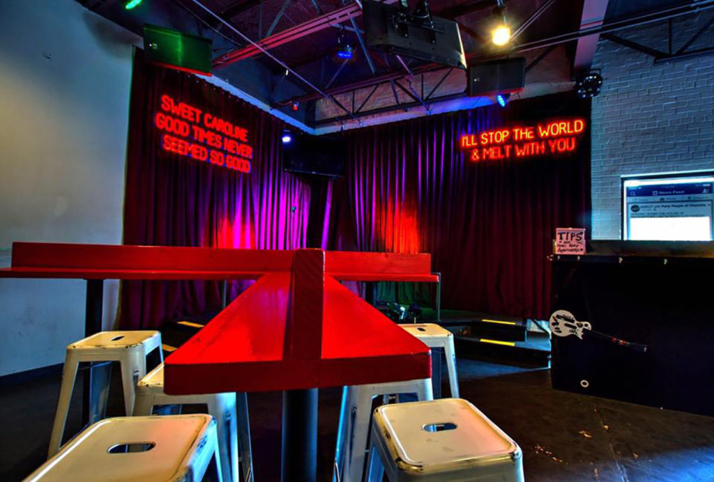 Your complete guide to the 3 best places to sing karaoke in Charlotte, including the #1 song at each