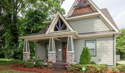 Craftsman with one-of-a-kind curb appeal