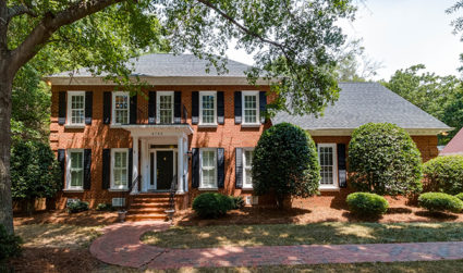 Classic all-brick home on .63 acres