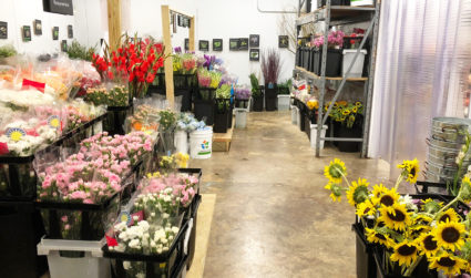 This wholesale flower market will teach you to DIY your own...