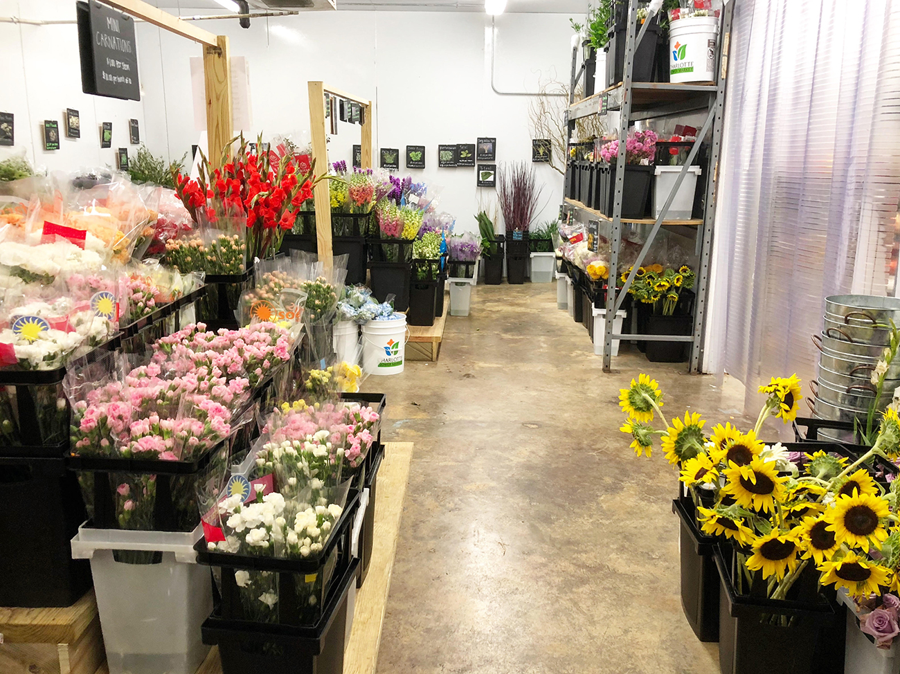 This wholesale flower market will teach you to DIY your own wedding ...