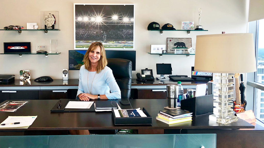 How I Work: 18 quick questions with Jill Gregory, EVP and CMO at NASCAR