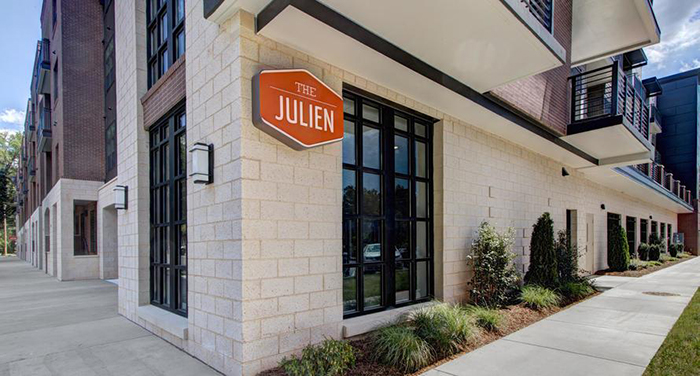 the julien plaza midwood apartments