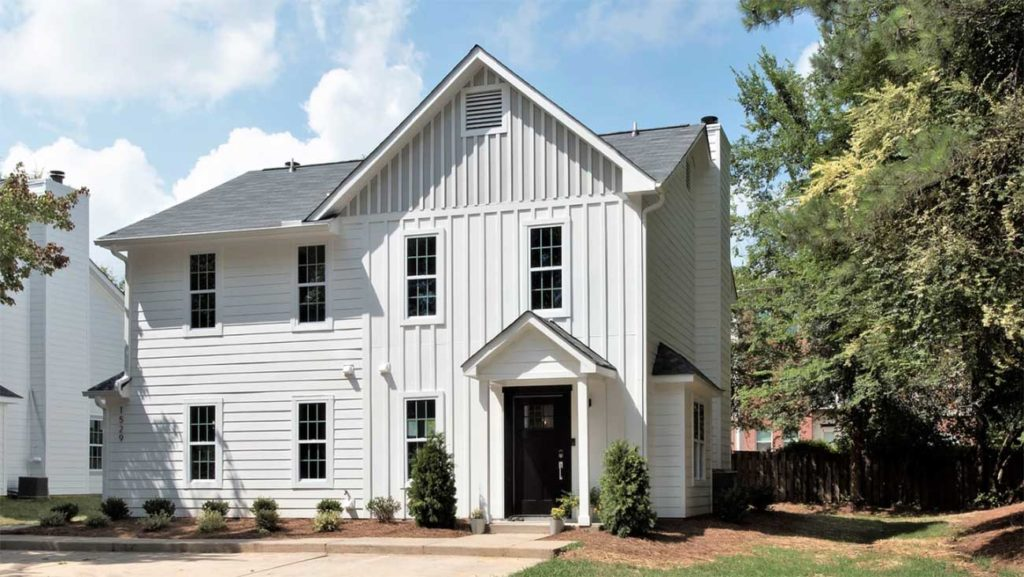 Renovated townhome community near Plaza Midwood selling homes under $250,000