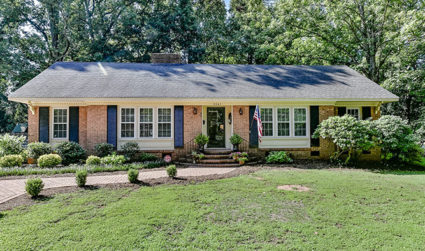 Stylish all brick ranch in great neighborhood