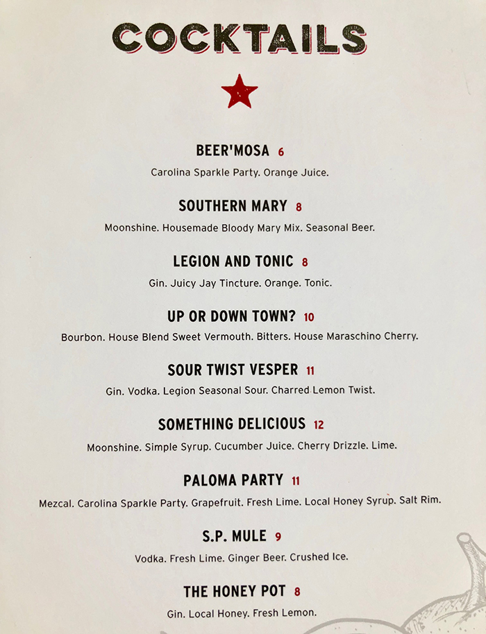 cocktail-menu-legion-brewing-southpark