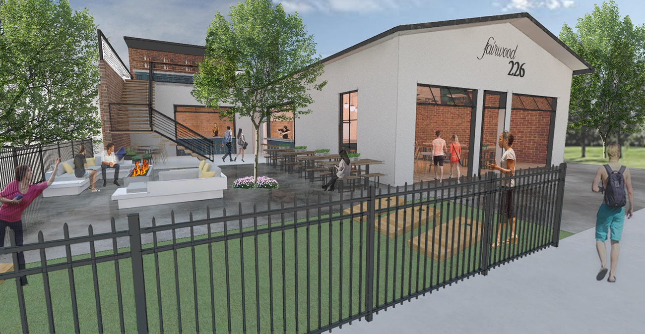 New restaurant and bar named The Fairwood 226 planned for South End near Triple C