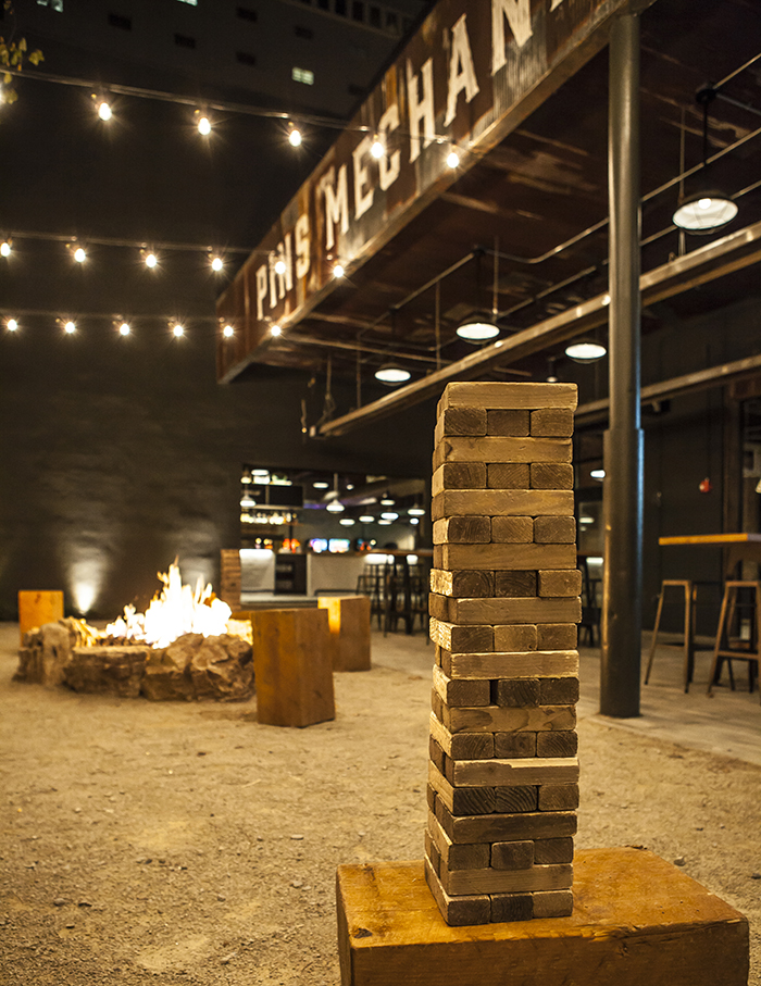 jenga at pins mechanical in charlotte