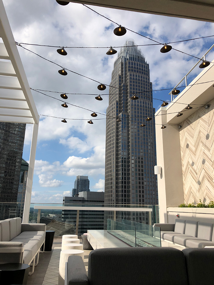 Nuvole A Swanky Rooftop Bar And Lounge Is Now Open On The 22nd Floor Of The New Ac Hotel Charlotte Agenda