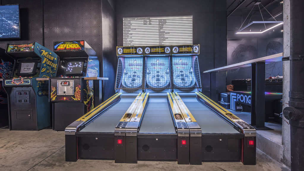 Pins Mechanical Company and 16-Bit Bar+Arcade opening in South End this fall — here's what to expect