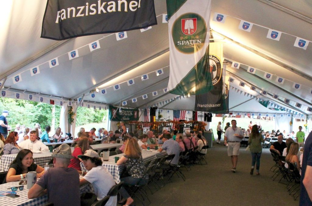 Your guide to the Waldhorn's Oktoberfest Dinner, which draws over 2,500 people each weekend
