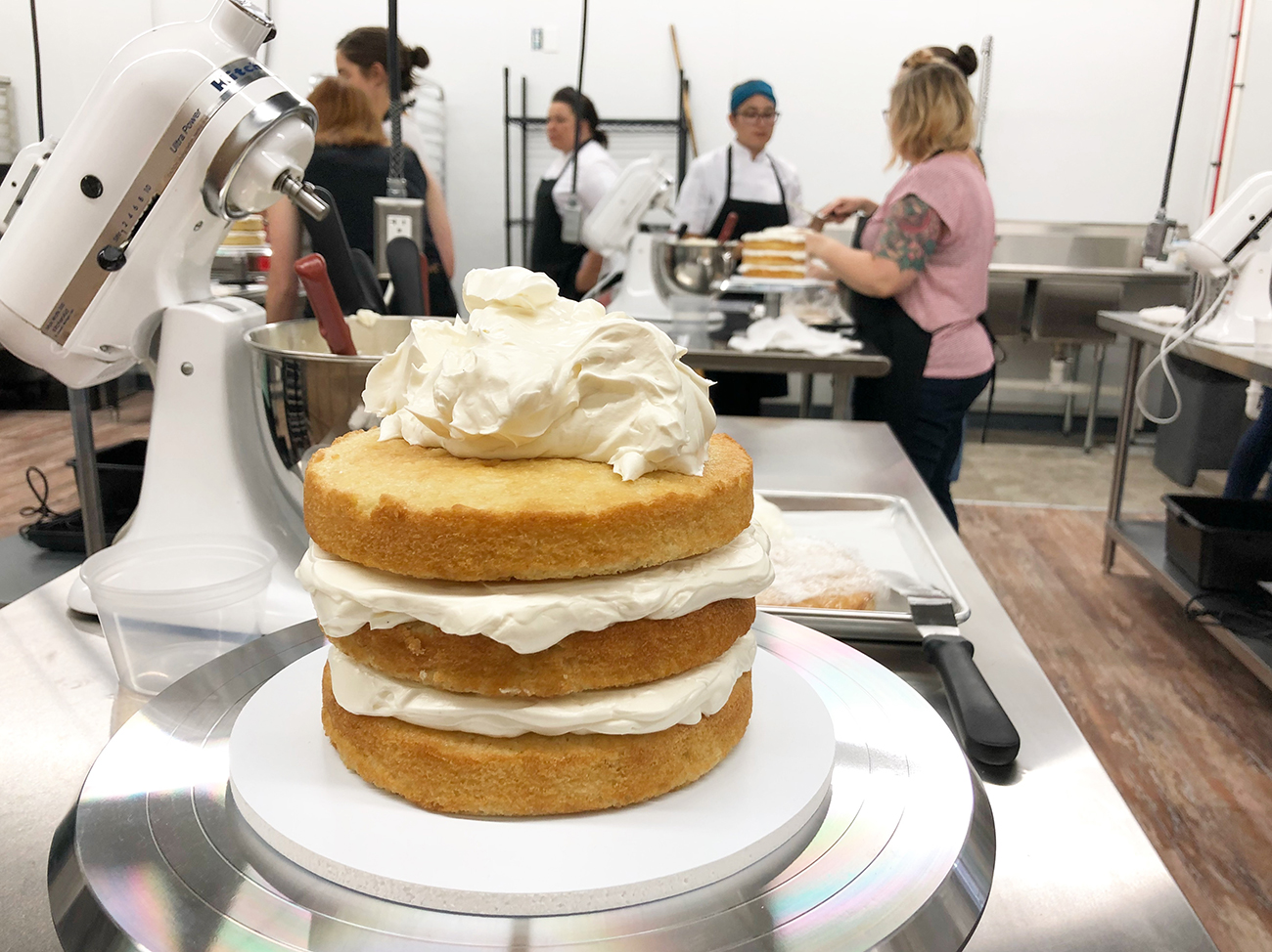 Sweet Spot Studio, a hands-on baking classroom from pastry chef Jossie Lukacik, is now open