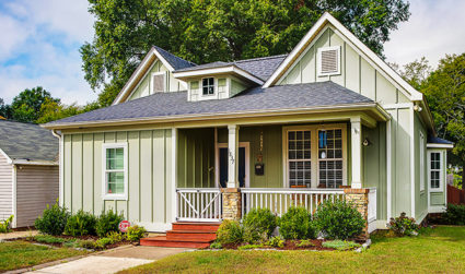 Picture-perfect bungalow on large corner lot