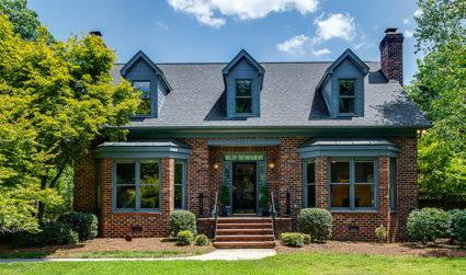 Cute full brick home with a big yard