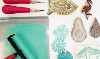 Adult Painting Party: Lino Block Printing