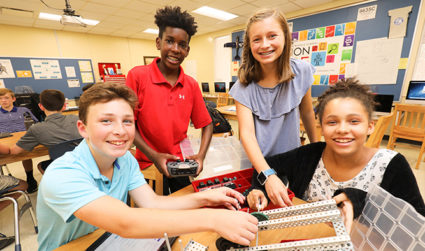 Middle School Open House at Charlotte Christian School