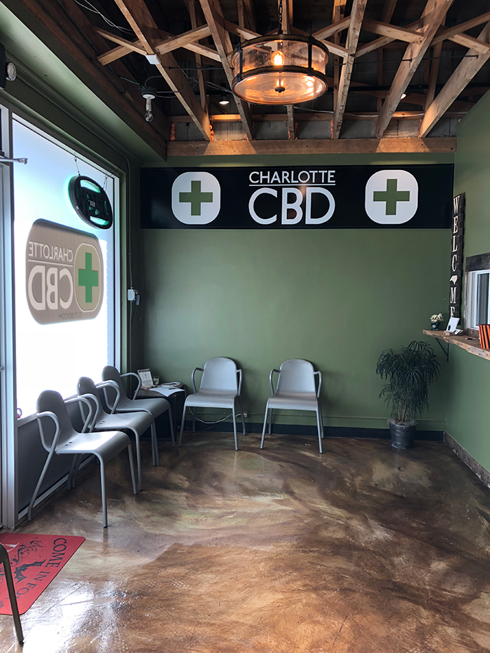 Charlotte's first CBD dispensary and