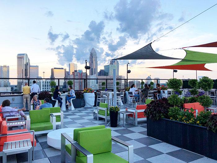 10 best rooftop bars in Charlotte - Charlotte Agenda