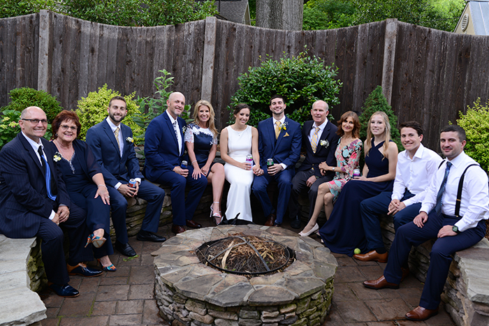 Dilworth Wedding, 11 guests