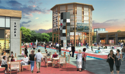 District X wants to become a new entertainment center in southwest Charlotte