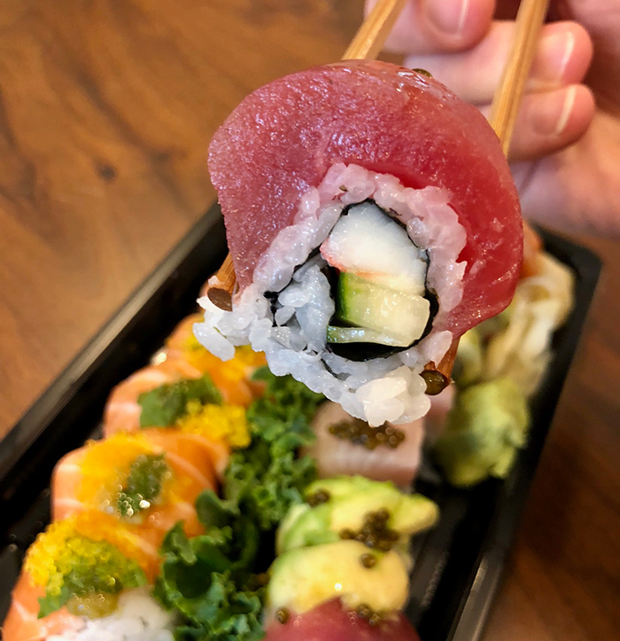 tuna-sushi-roll-at-clean-catch-charlotte