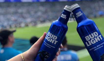 Win two passes to the Bud Light tailgate today AND two tickets to tonight's game