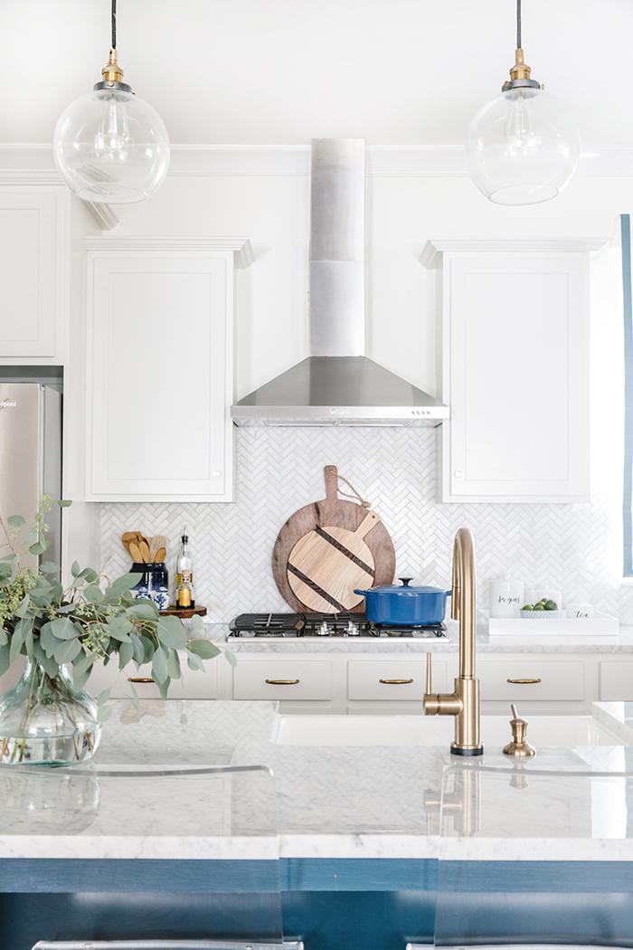 Waco Street home kitchen