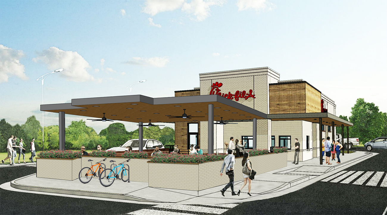 Chick-fil-A to tear down and rebuild its Woodlawn location to alleviate the daily traffic nightmare