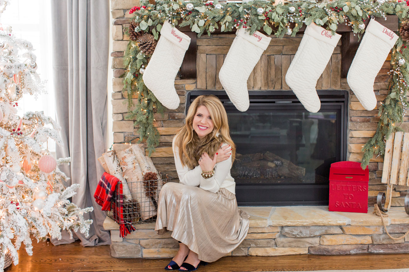 Home Tour: Lindsey Regan Thorne's Christmas decorating shenanigans are an annual attraction on Instagram