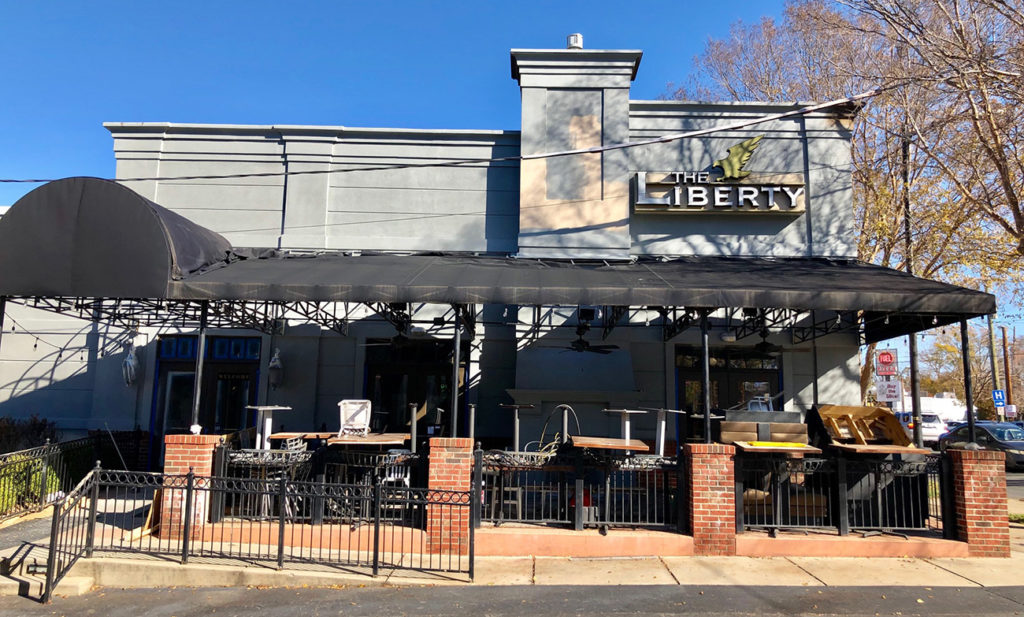 What's taking The Liberty space in South End?