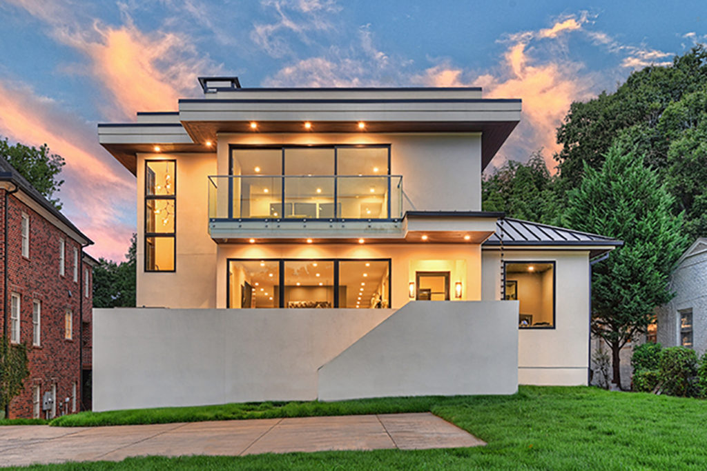 Unique to the neighborhood: Modern mansion near Freedom Park asks $3.29 million