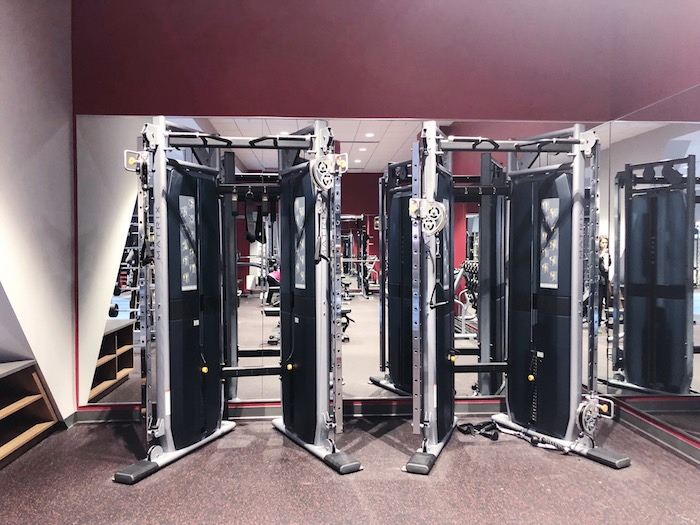Lowe's HQ just opened their state-of-the-art fitness center on