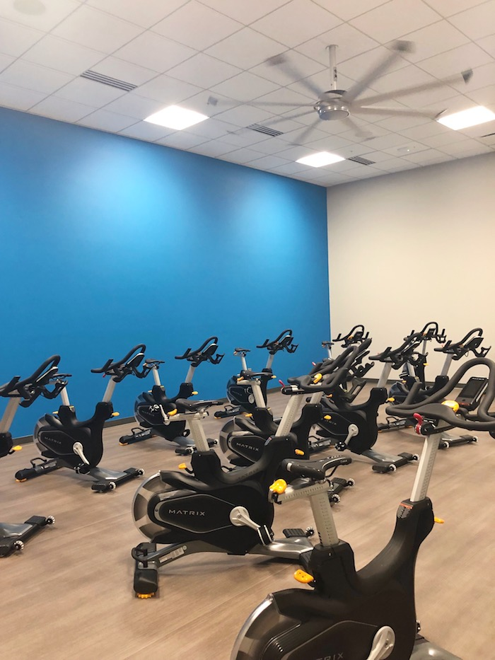 Lowe's HQ just opened their state-of-the-art fitness center