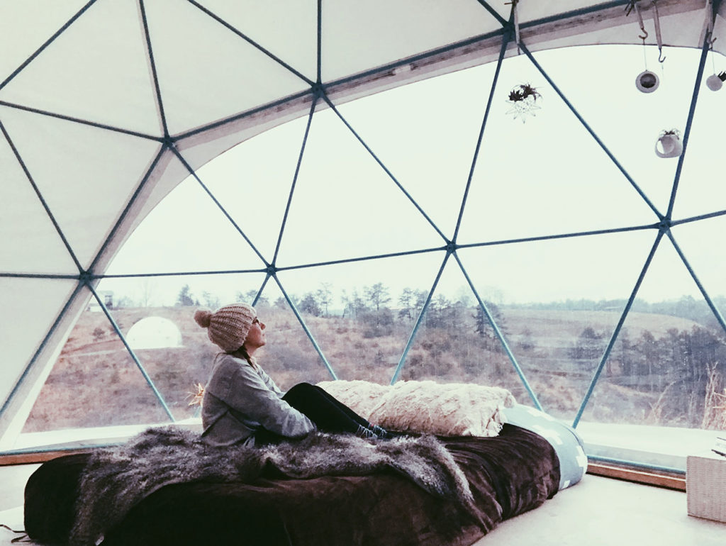 Giveaway: Official rules for our Asheville Glamping Instagram giveaway