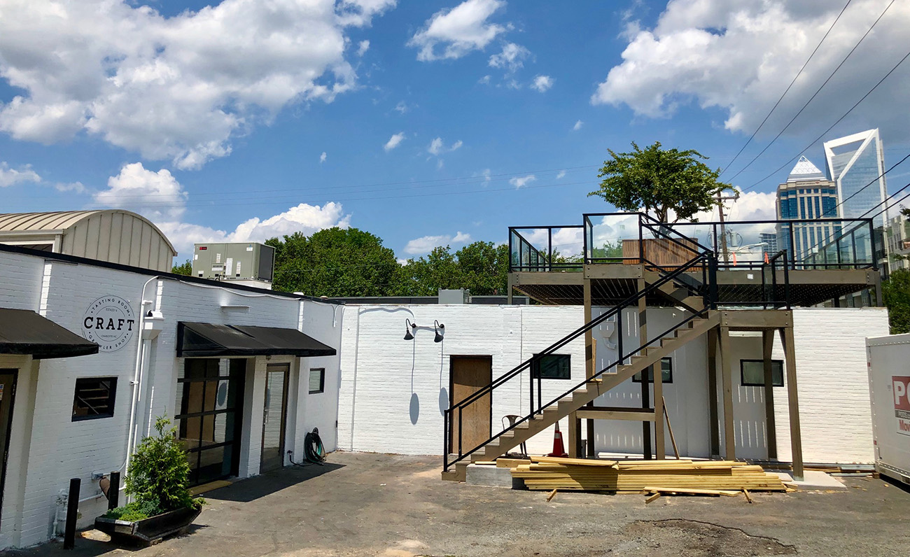South End S New 28 Seat Rooftop Cocktail Bar Opening Soon