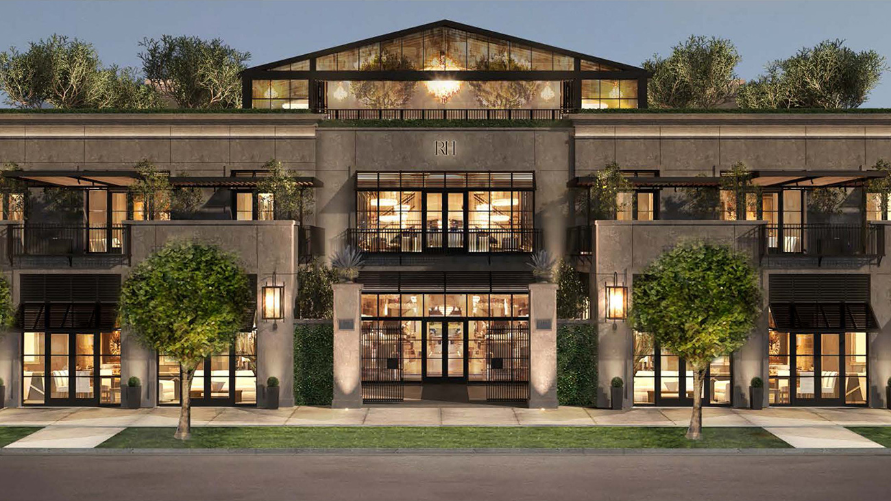 Confirmed: Massive, two-story Restoration Hardware with rooftop restaurant opening in SouthPark
